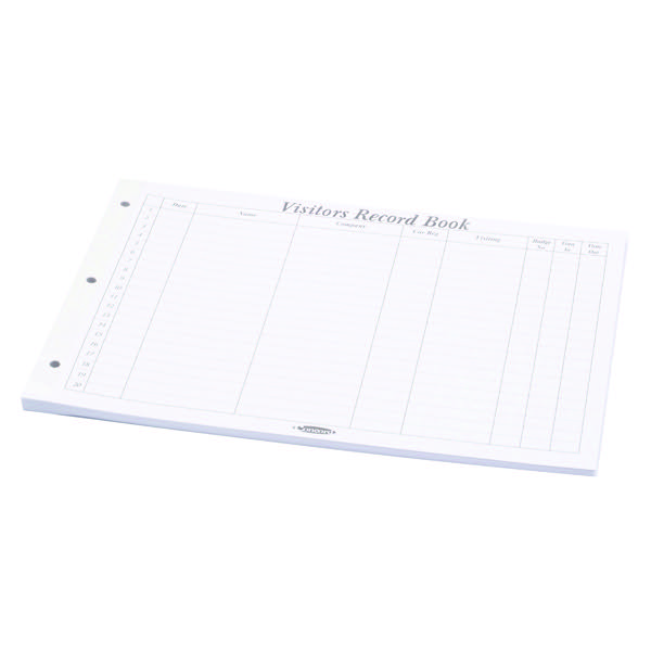 Concord Visitors Book Refill 50 Sheets (Pack of 50) 85801/CD14P
