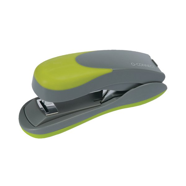 Q-Connect Softgrip Half Strip Stapler KF00992