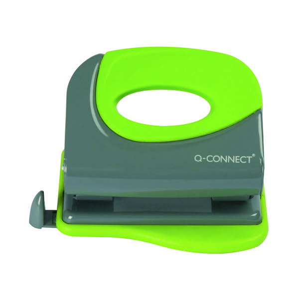 Q-Connect Soft Grip Metal Hole Punch KF00996