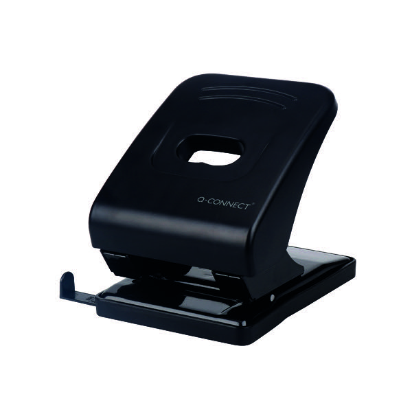 Q-Connect Heavy Duty Hole Punch 40 Sheet Black KF01236