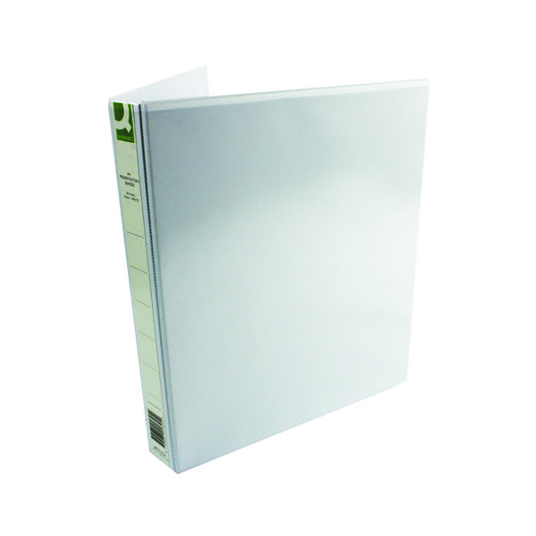 Q-Connect Presentation 25mm 4D-Ring Binder A4 White (Pack of 6) KF01325Q