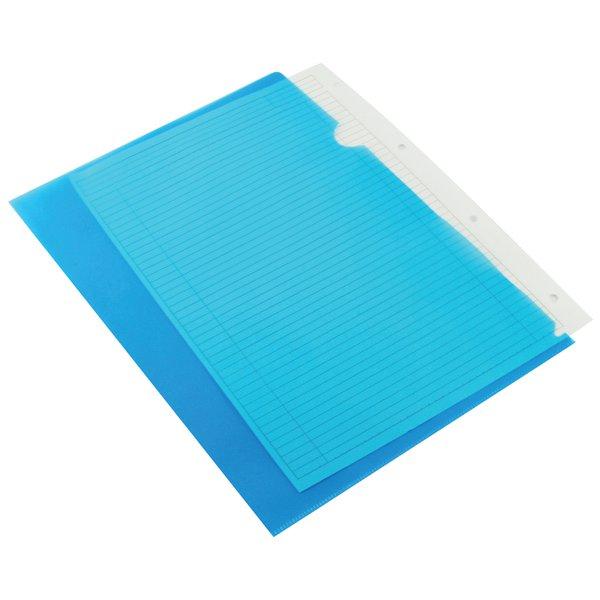 Q-Connect Cut Flush Folder A4 Blue KF01486 Pack of 100