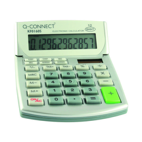 Q-Connect Semi Desktop Calc 12Digit
