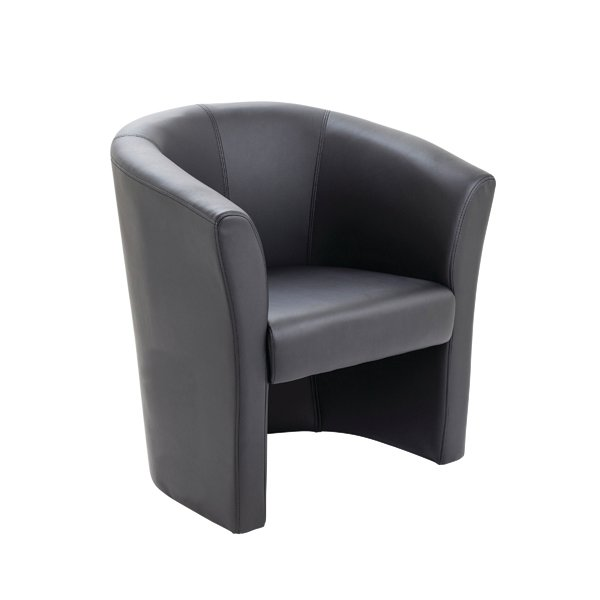 Arista Tub Chair Black