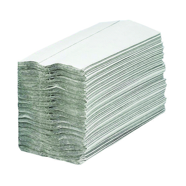 2Work 1-Ply C-Fold Hand Towels White (Pack of 2880) HC128WHVW