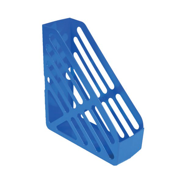 Q-Connect Blue Magazine Rack CP073KFBLU