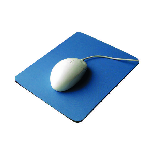 Q-Connect Economy Mouse Mat Blue 29700