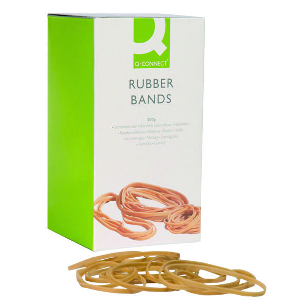 Q-Connect Rubber Bands Assorted Sizes 100g KF10673