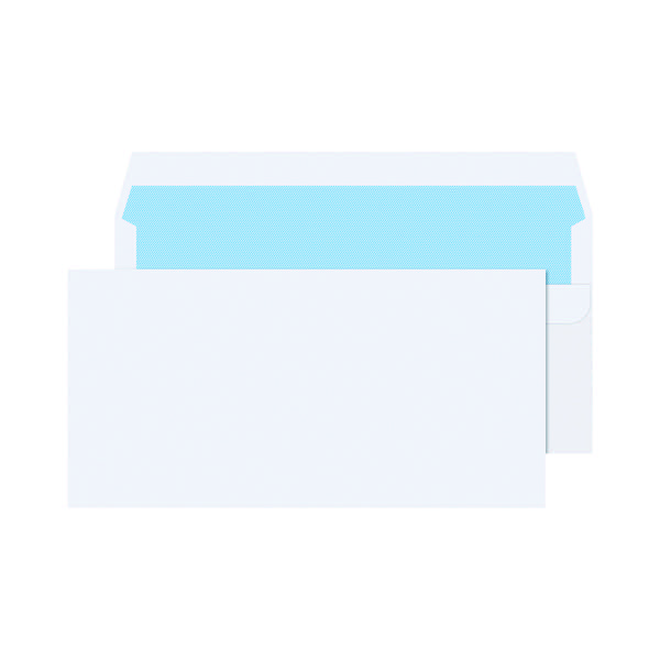 Q-Connect DL Envelopes 80gsm Self Seal White (Pack of 1000) KF3454