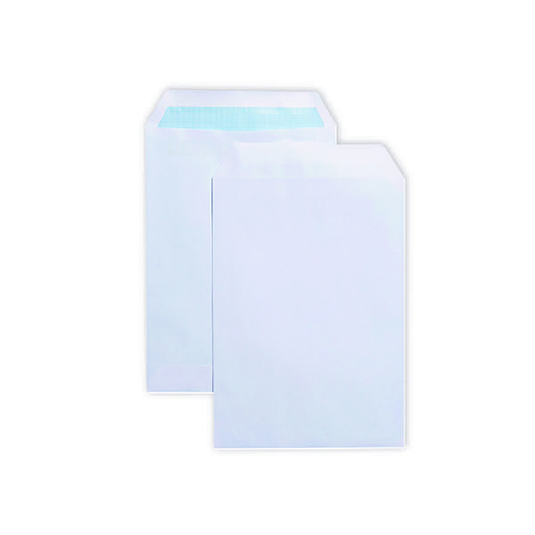 Q-Connect C5 Envelopes Pocket Self Seal 90gsm  White (Pack of 500) 2898