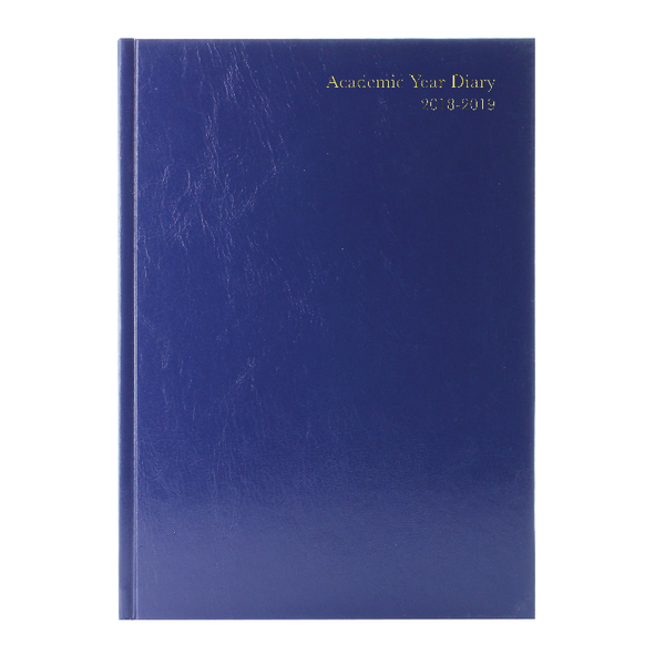 Week to View 2018/19 A5 Blue Academic Diary KF3A5ABU18