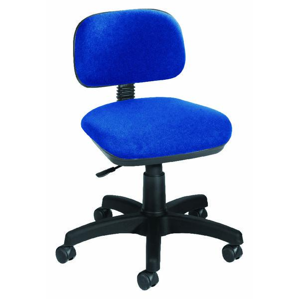Jemini Typist Blue Chair KF50204