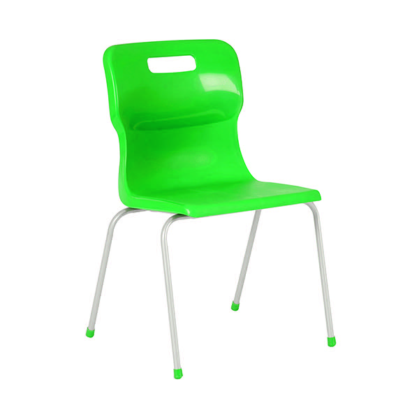 Titan Green Size 3 School Chair With 4 Legs KF72181