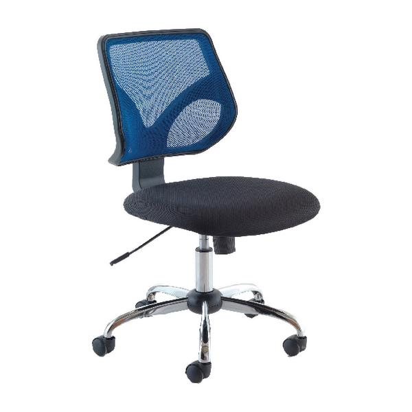 Jemini Medium Back Task Chair Blue KF73603