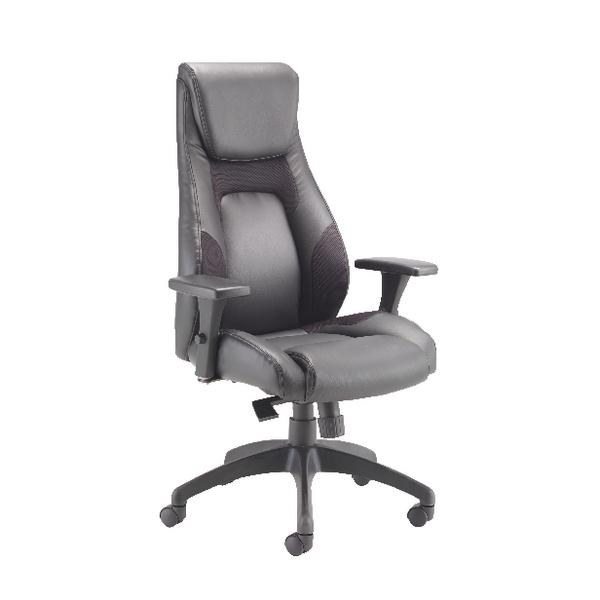 Avior Veloce Leather Look and Mesh Chair KF74495