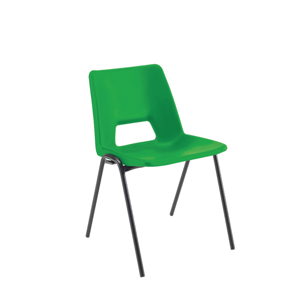 Jemini Classroom Green Chair 260mm KF74985