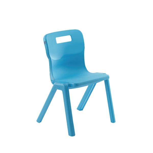 Titan One Piece School Chair Size 1 Sky Blue KF78509