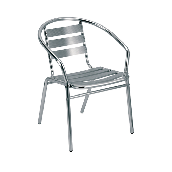 Arista Aluminium One Piece Chair KF78669