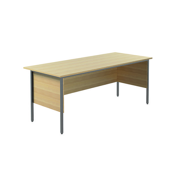 Serrion Ferrera Oak 1800mm 4 Leg Desk KF838789