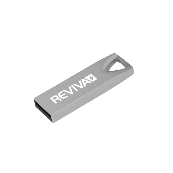 Reviva USB 2.0 Silver Flash Drive 8GB KO01059