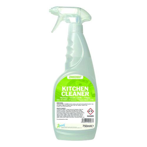 2Work Kitchen Cleaner Degreaser 750ml 2W03987