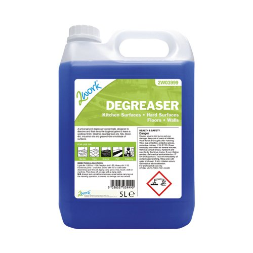 2Work Kitchen Clean Degreaser 5L