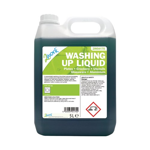 2Work Economy Washing Up Liquid 5Ltr