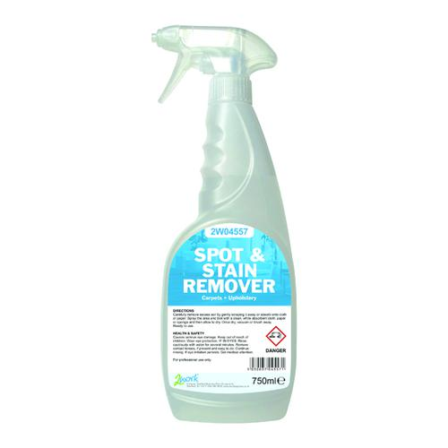 2Work Carpet Spot Stain Remover 750ml