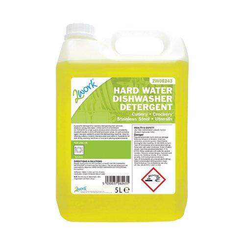 2Work Hard Water Dishwasher Detergent 5L