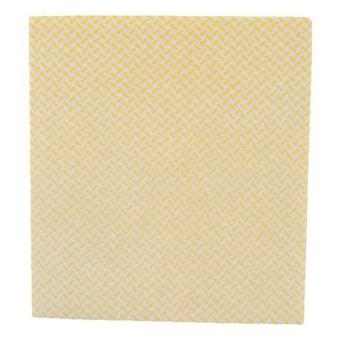 2Work Med Weight Cloth 380x400mm Yellow (Pack of 5) CCYM4005I