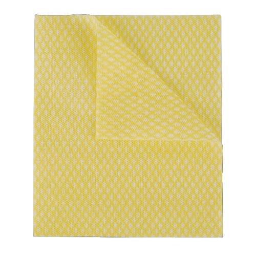 2Work Economy Cloth 420x350mm Yellow (Pack of 50) CCYC42BDI