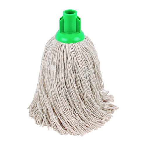 2Work 14oz Twine Rough Mop Green PK10