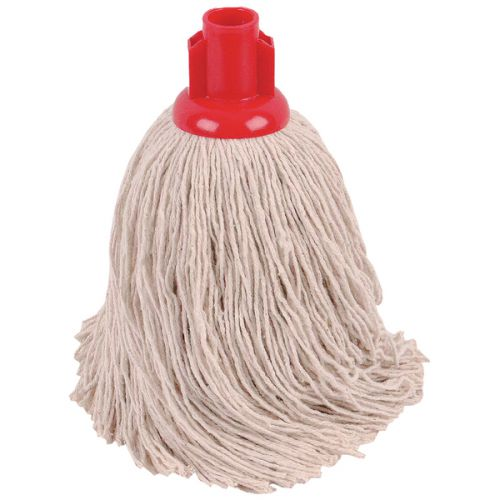 2Work 14oz Twine Rough Mop Red PK10