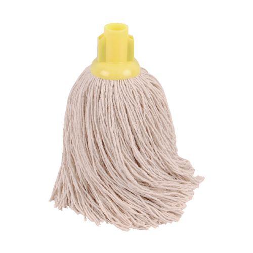 2Work 14oz Twine Rough Mop Yellow PK10