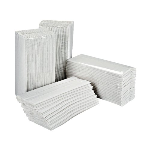 2Work White 2-Ply C-Fold Hand Towels