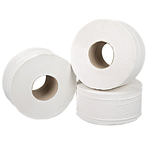 2Work Mini Jumbo Roll 2-Ply Pk12