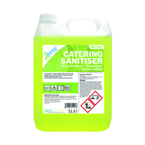 2Work Catering Sanitiser 5Ltr