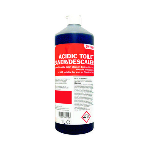 Image for 2Work Acidic Descaling Toilet Cleaner 1 Litre 2W76002