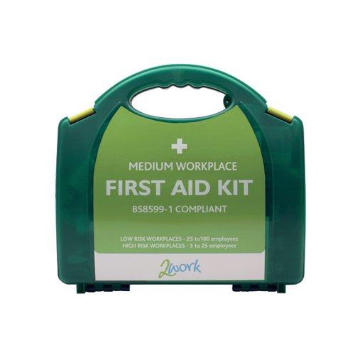 2Work Medium BSI First Aid Kit