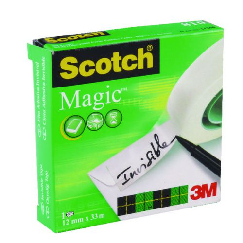 Scotch Magic Tape 810 12mm x 33m 8101233