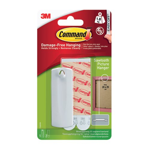 3M Command Sawtooth Picture Hanger 17040