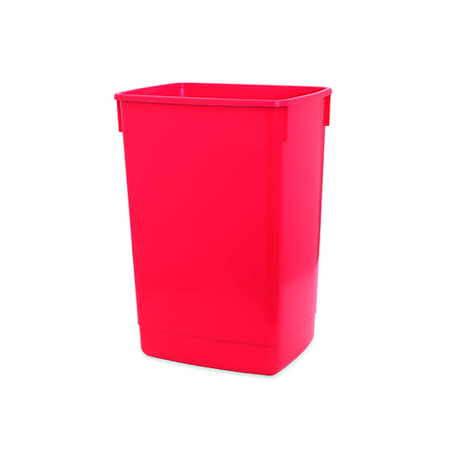 Addis 60 Litre Flip Top Bin Base Red 510899