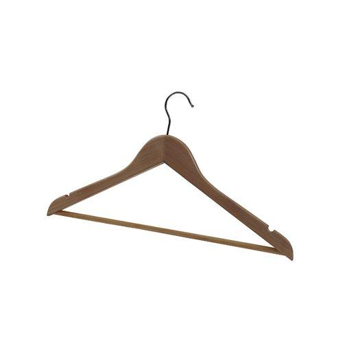 Alba Wooden Coat Hanger (Pack of 25) PMBASICBO