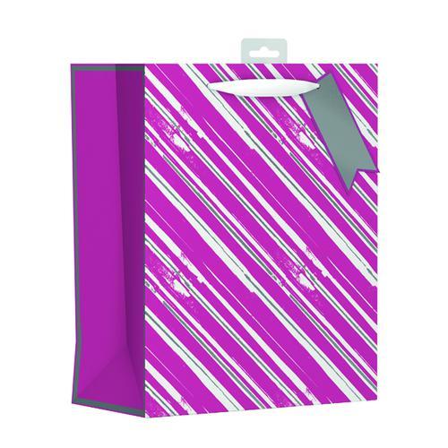 Giftmaker Vertical Stripe Gift Bag Large (Pack of 6) FCSL
