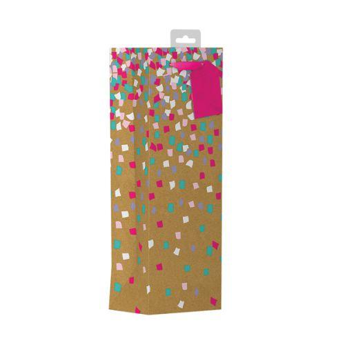 Giftmaker Confetti Bottle Bag (Pack of 6) FCOB
