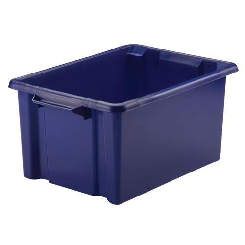 Strata Storemaster Maxi Crate 32L Blue HW046-Blue