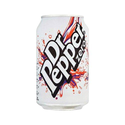 Dr Pepper Zero 330ml Cans Pk24 0402053