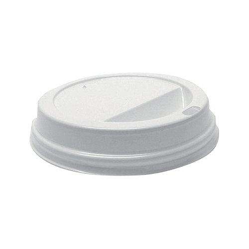 MyCafe Lids 12oz white pkK1000