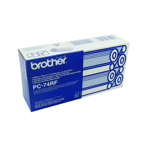 Brother PC74RF Thermal Ribbon Film Pk4