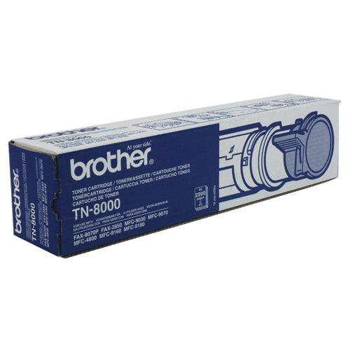 Brother Fax 8070P Black Toner TN8000